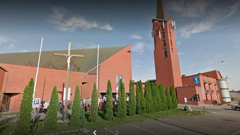 Gdańsk agitacja w kościele