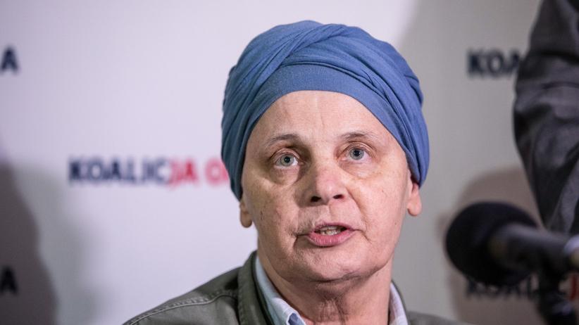 Janina Ochojska popiera Hołownię