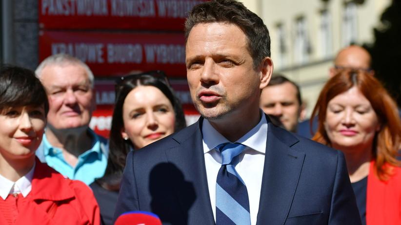 Groził, że zabije Rafała Trzaskowskiego. Jest w rękach policji