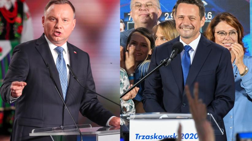 Andrzej Duda i Rafał Trzaskowski w drugiej turze