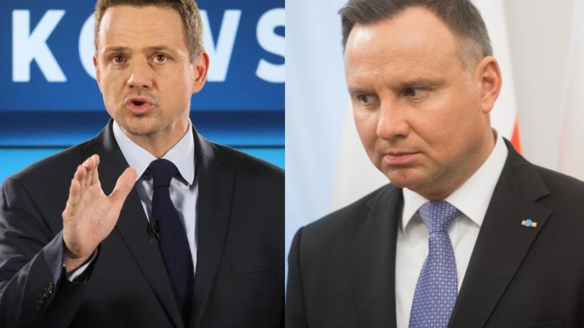 Wybory 2020. Trzaskowski goni Dudę w nowym sondażu prezydenckim