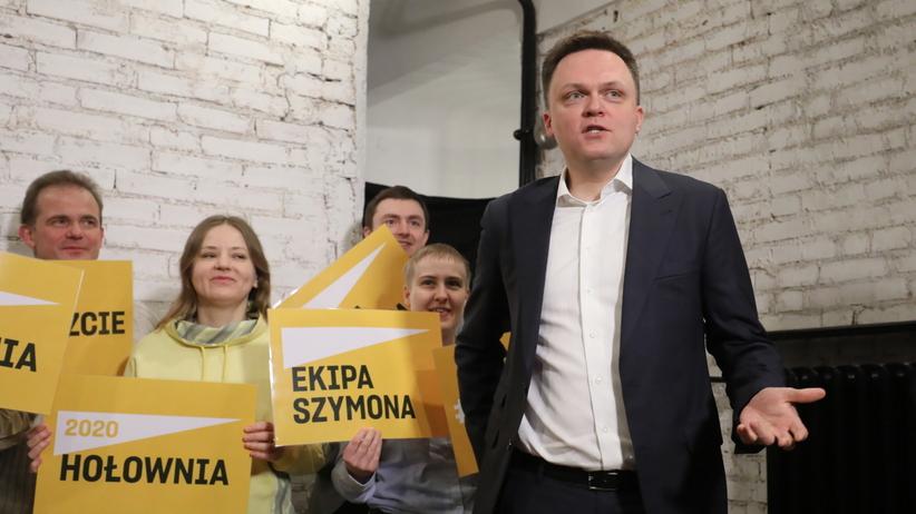 Wybory prezydenckie 2020. Szymon Hołownia startuje z kampanią wyborczą