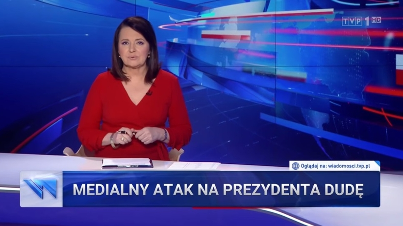 TVP o atakach na Andrzeja Dudę