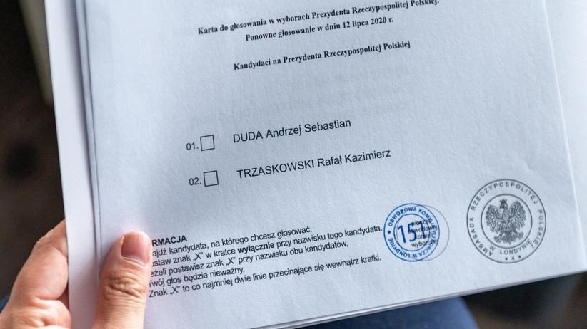 Karta do głosowania