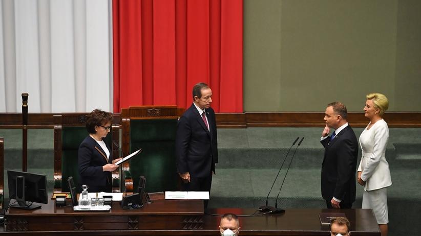 Zaprzysiężenie prezydenta Andrzeja Dudy