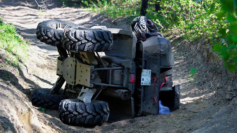 14-latek zginął w wypadku quada w Dolistowie Nowym