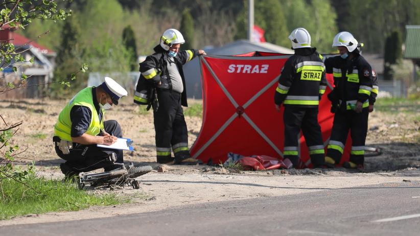 dziewczynka na rowerze zginęła w wypadku