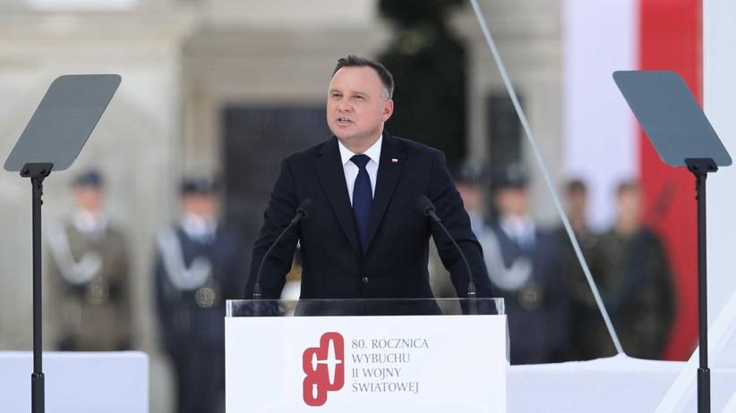 """Przemówienie Andrzeja Dudy. """"Mamy do czynienia z próbami zmiany granic siłą"""""""