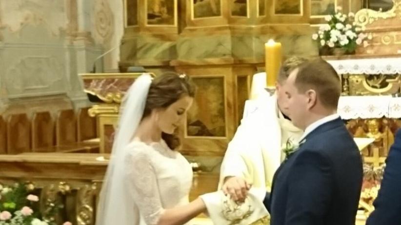 Adam Andruszkiewicz ślub