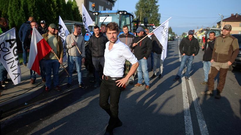 Agrounia ustawiła blokady dróg w całej Polsce
