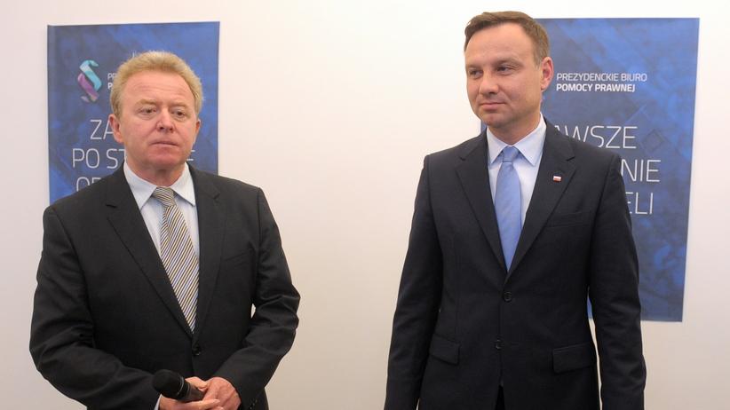 Andrzej Duda i Janusz Wojciechowski