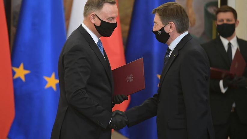 Marek Kuchciński, Andrzej Duda