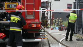 Ogromny pożar hotelu z aquaparkiem. Ewakuowano 50 osób