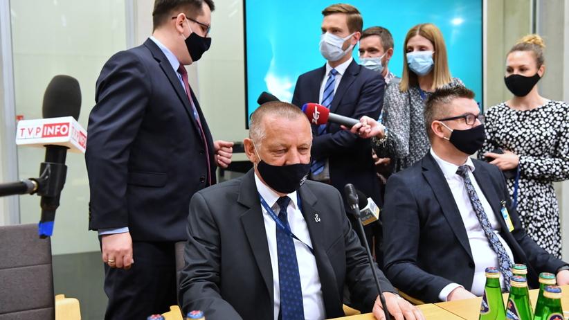 """Marian Banaś na sejmowej komisji przedstawił informacje ws. """"wyborów kopertowych"""""""