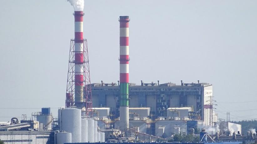 Awaria elektrowni Energa w Ostrołęce. Olej turbinowy wyciekł do Narwi
