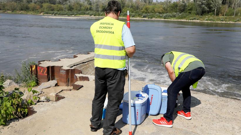 Zrzut ścieków do Wisły. Są wstępne wyniki badań wody