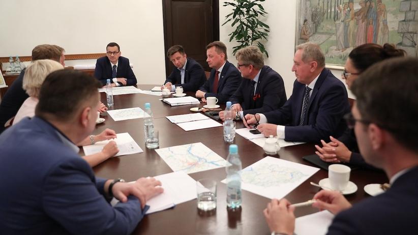 Awaria oczyszczalni ścieków w Warszawie. W Kancelarii Premiera zebrał się sztab kryzysowy