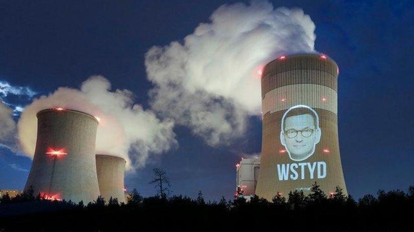 Twarz wstydu premiera Morawieckiego. Greenpeace: Blokuje neutralność klimatyczną