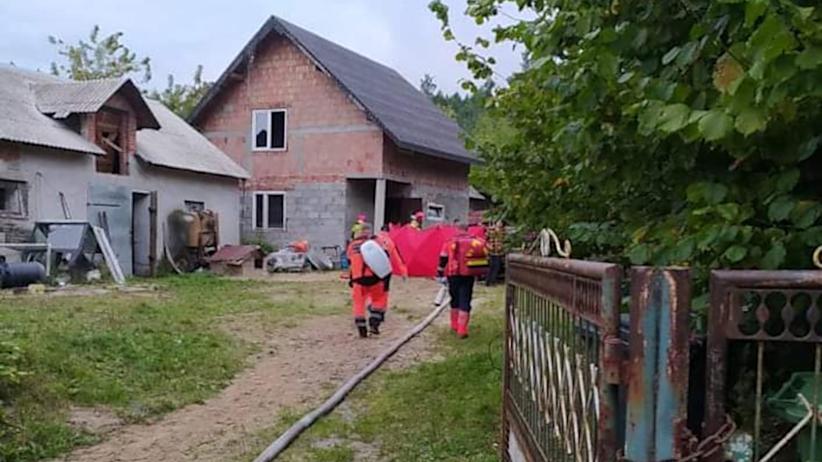 pożar w Białej Rawskiej