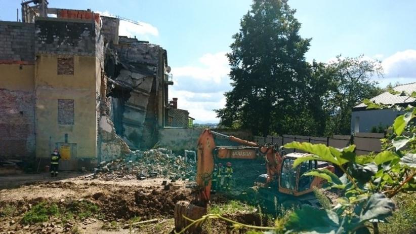 Katastrofa budowlana w Bielsku-Białej. Runęła kamienica