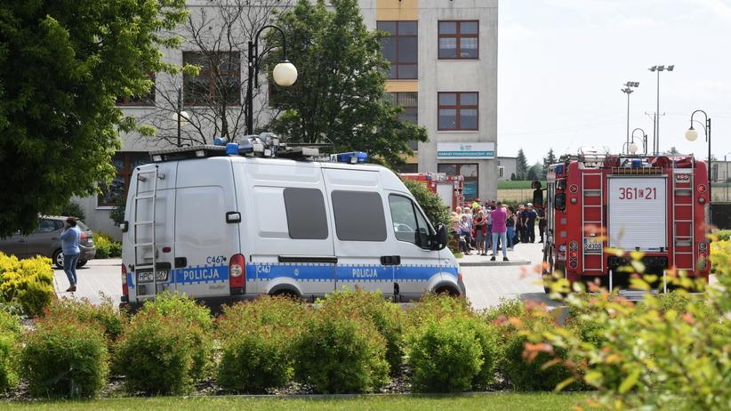 Brześć Kujawski. Strzelanina w szkole była zapowiedziana w internecie?