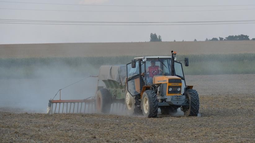 Koszmar podczas prac polowych. Maszyna wciągnęła rolnika