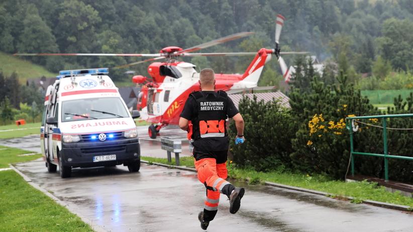 Burza w Tatrach. Co najmniej 9 zaginionych po uderzeniach piorunów
