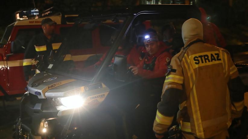 Burza w Tatrach. Ewakuacja kilkuset turystów z Kasprowego Wierchu po awarii kolejki