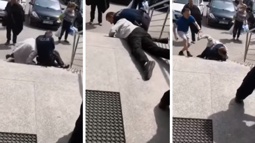 Busko-Zdrój: Atak nożownika na policjanta. Radny usłyszał zarzuty