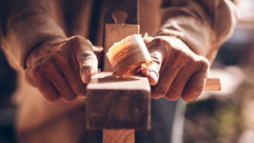 Struganie drewna