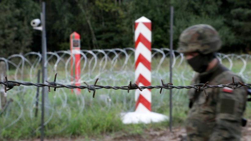 Granica z Białorusią - zdjęcie ilustracyjne