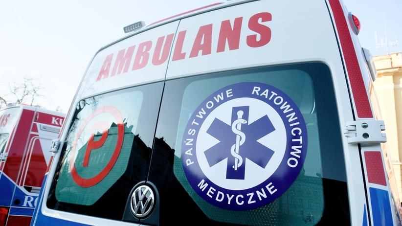 Tragedia w szpitalu. Pacjent wypadł z okna na 4. piętrze