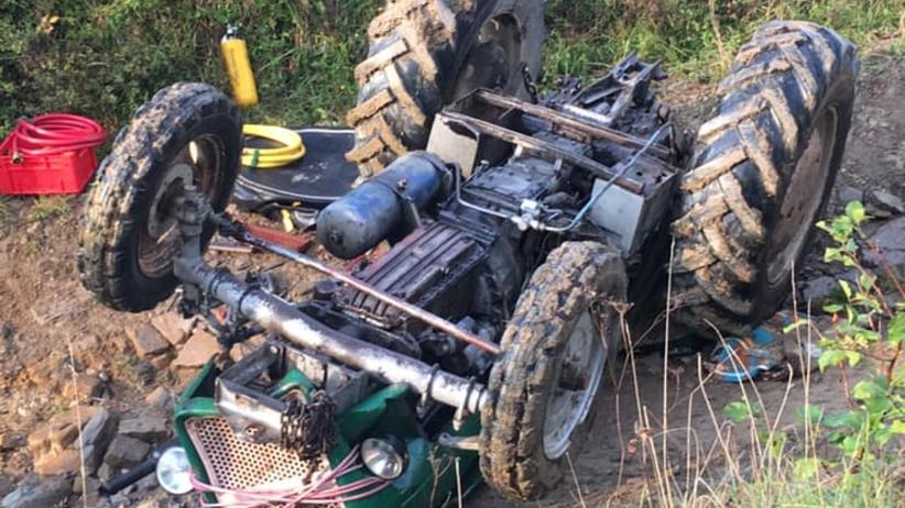 Tragedia podczas prac polnych. Mężczyznę przygniótł traktor