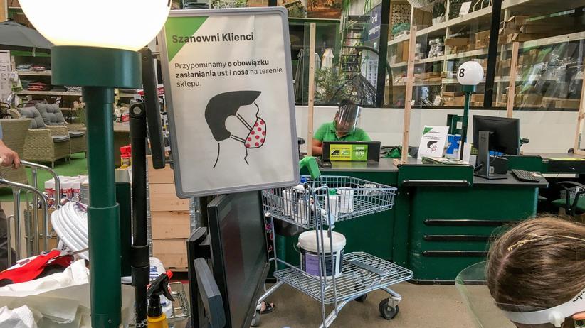 obostrzenia w sklepach