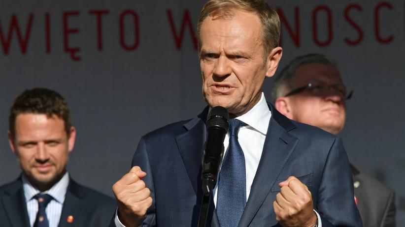 """Donald Tusk na wiecu w Gdańsku. """"Musimy odnaleźć w sobie gotowość"""""""