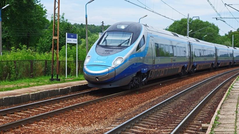 Ewakuacja pasażerów pociągu Pendolino relacji Warszawa-Wrocław