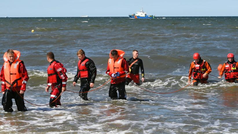 Gdańsk. Akcja poszukiwawcza nastolatków przy molo w Brzeźnie
