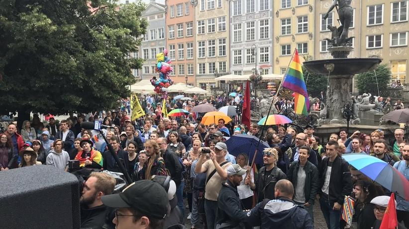 """Manifestacja """"Strefa wolna od stref"""" w Gdańsku"""