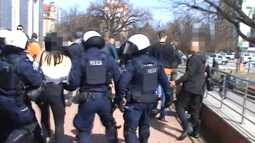 interwencja policji w Głogowie