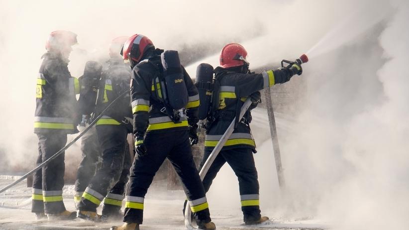 Dramatyczny finał gaszenia pożaru. Zmarł mężczyzna, który pomagał w akcji