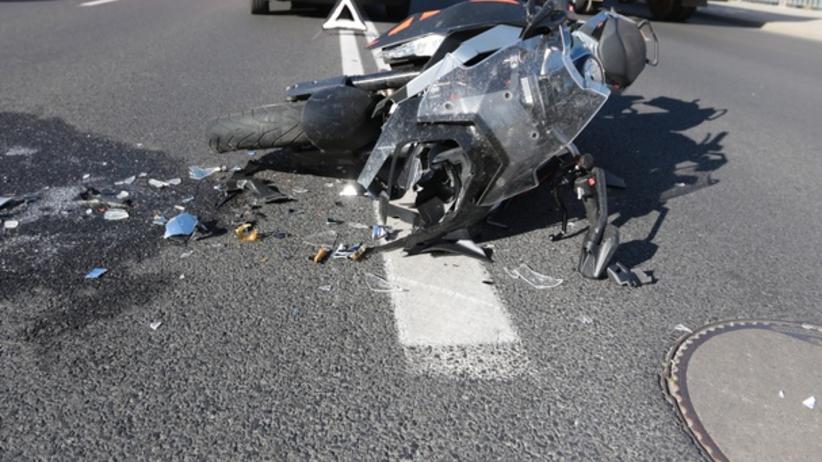 Motocyklista wiózł 11-letniego syna. Doszło do tragedii