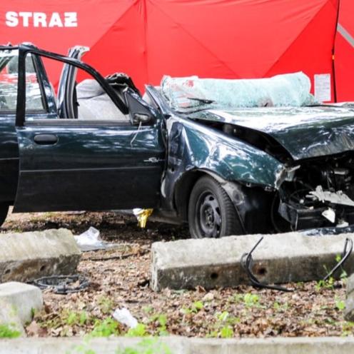 Wypadek w miejscowości Górzyca.
