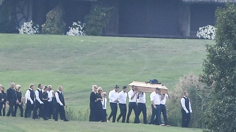 Pogrzeb Woźniaka-Staraka
