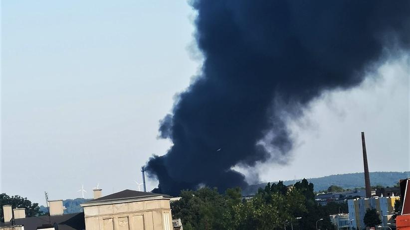 pożar w Grudziądzu