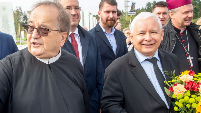 Jarosław Kaczyński, Tadeusz Rydzyk