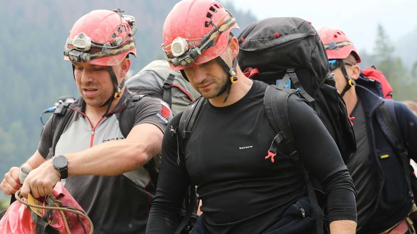 TOPR: ratownicy zbliżają się do miejsca, w którym mogą przebywać grotołazi