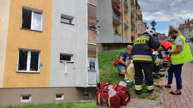 Pożar mieszkania, Kamienna Góra