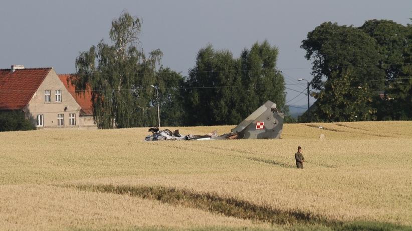 Katastrofa MiG-29. Wdowa po zmarłym pilocie zabrała głos. Miała problemy z PZU