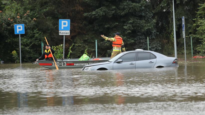 Powódź - zdjęcie ilustracyjne