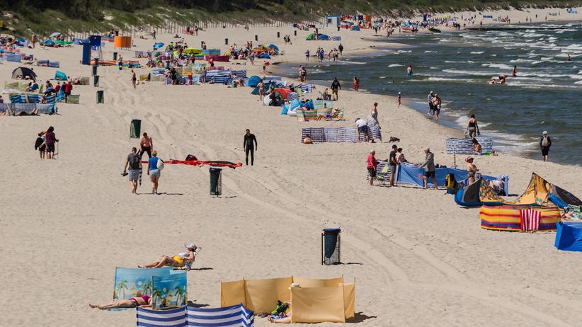 plaża w Kołobrzegu (zdjęcie ilustracyjne)